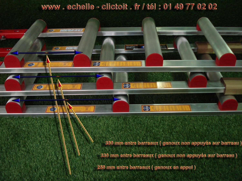 Page 26 les rallonges et les packs d 39 chelle de toit aluminium avec 3 type d 39 cartements entre - Location echelle de toit ...